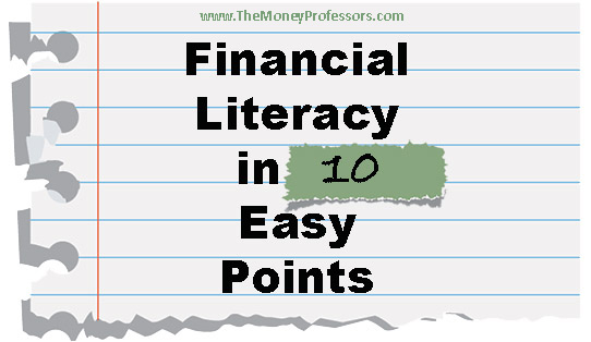 Financial Literacy - The Money Professors