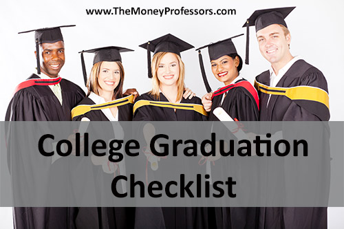 College Graduation Checklist
