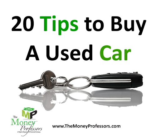 20 Tips to Buy a Used Car