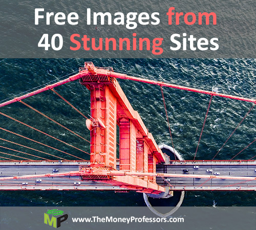 Free Images From 40 Stunning Sites