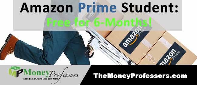 Amazon Prime Student: Free for Six Months