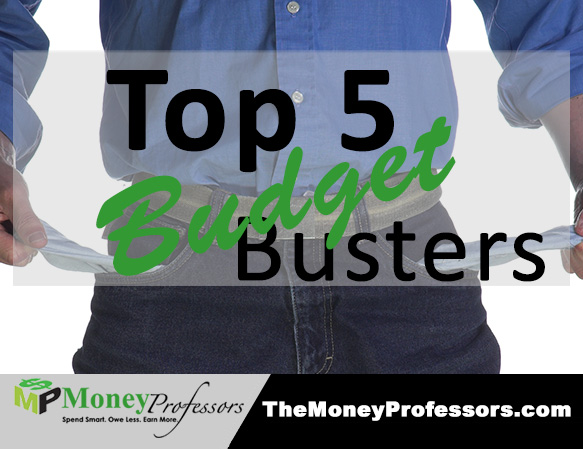 Top 5 Budget Busters